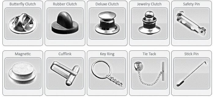 attachments of lapel pins