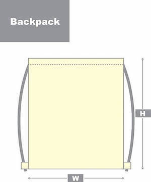 backpack style diagram