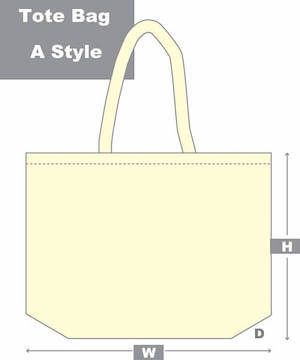 tote bag a style diagram