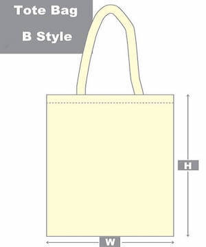 tote bag b style diagram